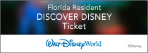 Walt Disney Florida Resident Ticket Special