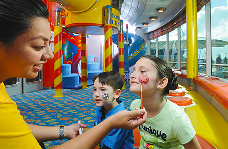 Royal Caribbean Cruise Kids Face Painting