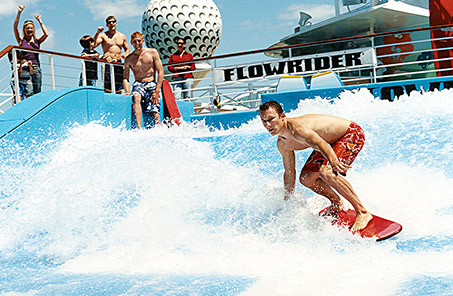 Royal Caribbean Cruise Surfing