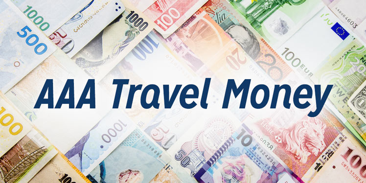 foreign currency exchange travel card prepaid visa card aaa - Visa Money Card
