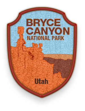Bryce Canyon National Park 2016 patch with link to trip information and itinerary