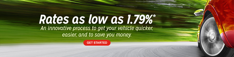 Find and finance your next car now. Get started!