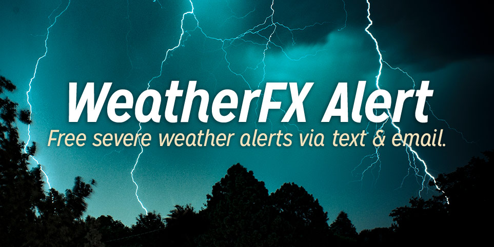 WeatherFX Letrs Provides AAA Members With Severe Weather Alerts Via Email And SMS TXT