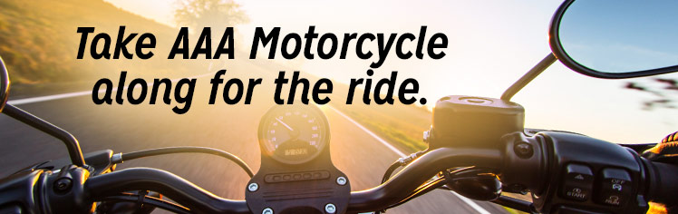 aaa motorcycle for just 35