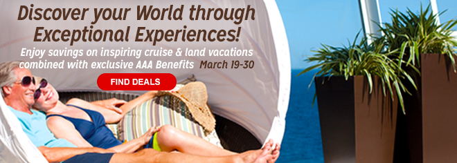 cruise and land vacation discounts