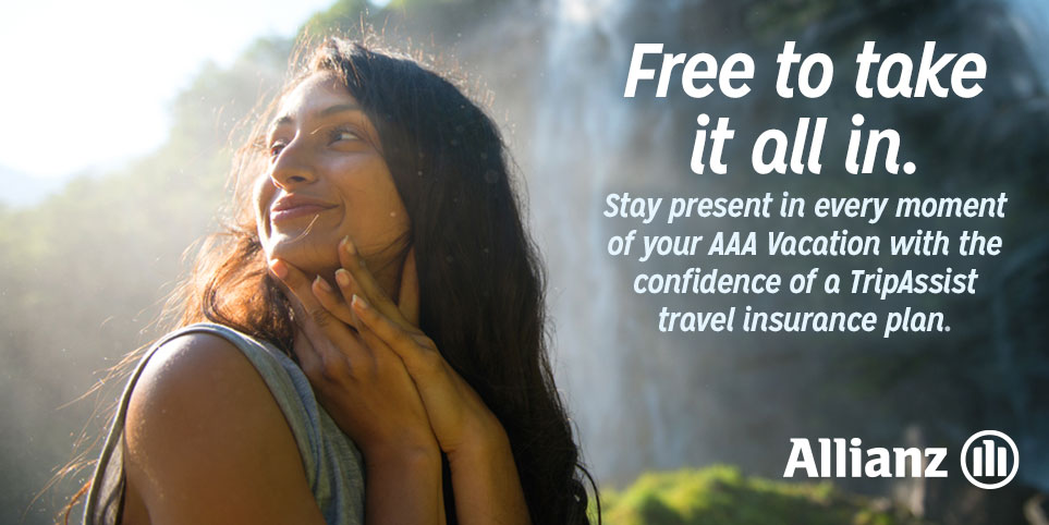 Enjoy your vacation with the confidence of travel insurance