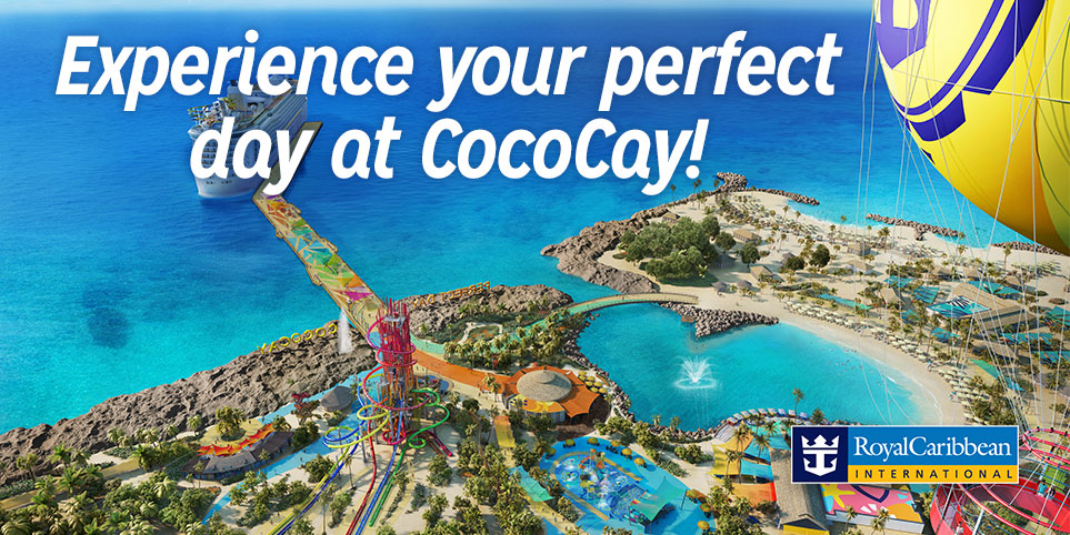 Travel with Royal Caribbean Cruises to CoCoCay