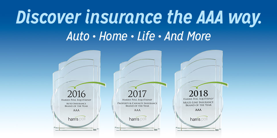 Discover Insurance the AAA way - featuring Harris Poll insurance awards