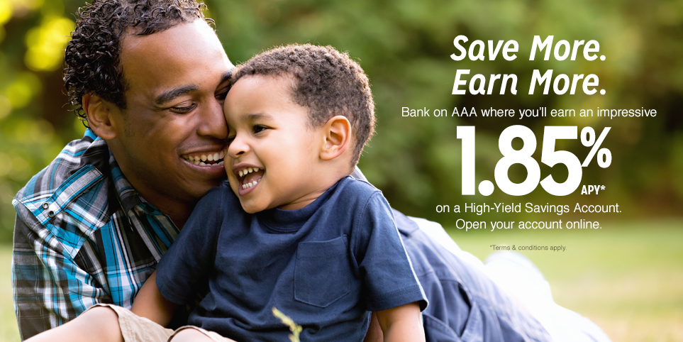 Save more with a high-yield savings account