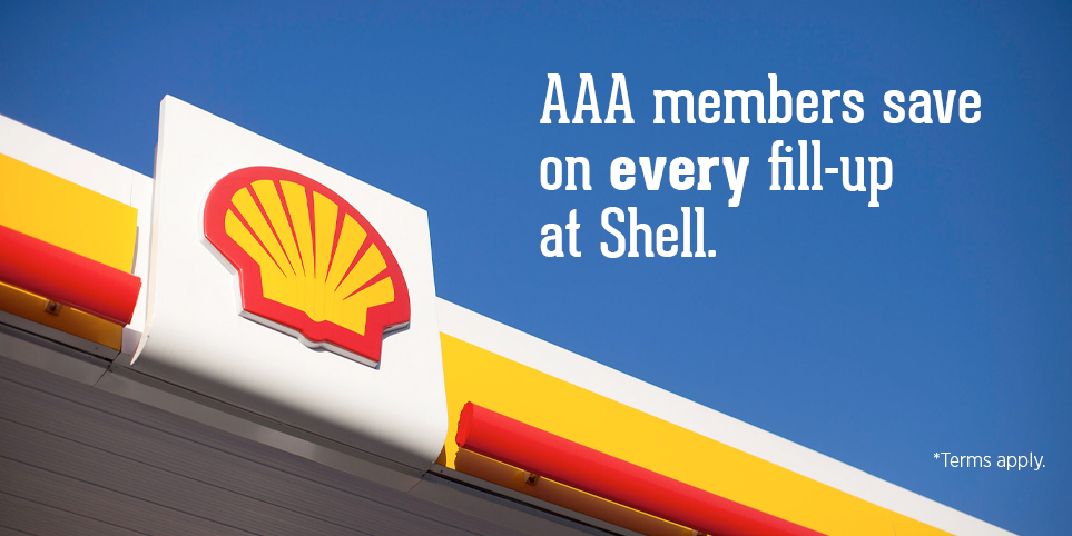 Save on Gas at Shell