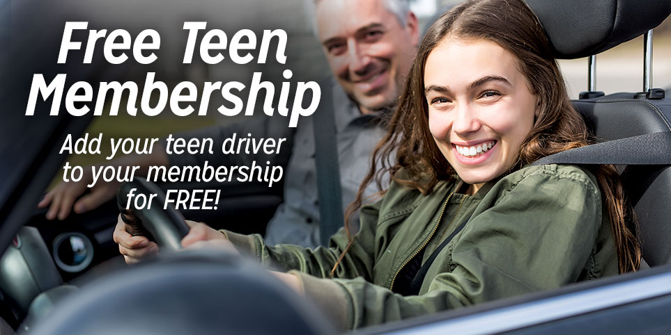 Free AAA Membership For Your Teen