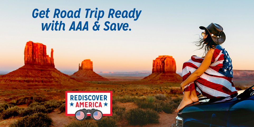 Get Road Trip Ready with AAA & Save.