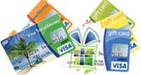 gift card and travelmoney card